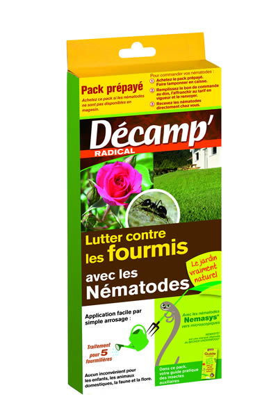 N matodes contre les fourmis decamp for Vers gris traitement