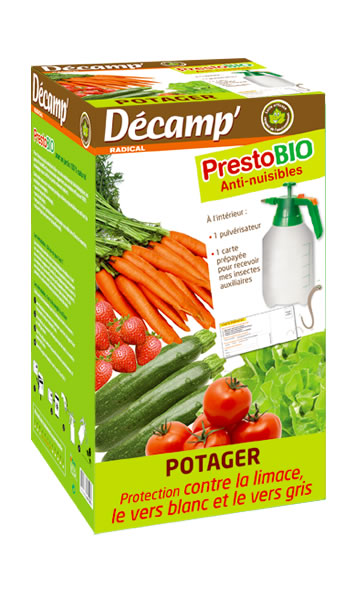 Prestobio n matodes sp cial potager decamp for Vers gris traitement