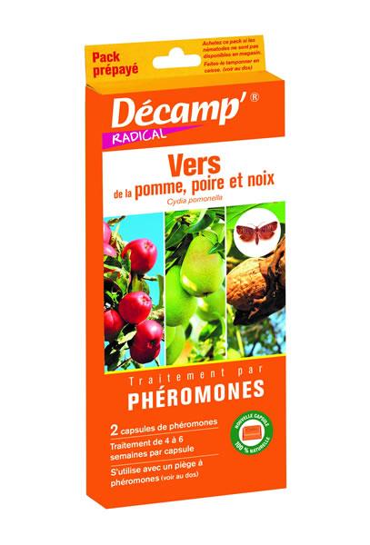 Ph romone contre le ver de la pomme poire et noix cydia pomonella decamp - Produit contre les pucerons ...